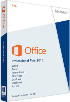 Microsoft Office 2013 Product Key Professional Plus