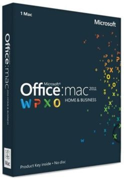 Microsoft Office Mac key
