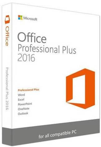 ms Office Professional Plus 2016 Key