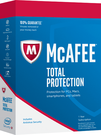 McAfee Total Protection 2017 – 3 Year Subscription [Online Key]