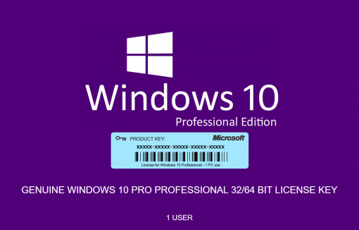 Windows 10 Pro License Key Mysoftwarekeys.com