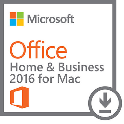 Microsoft Office 2016 Home & Business For Mac