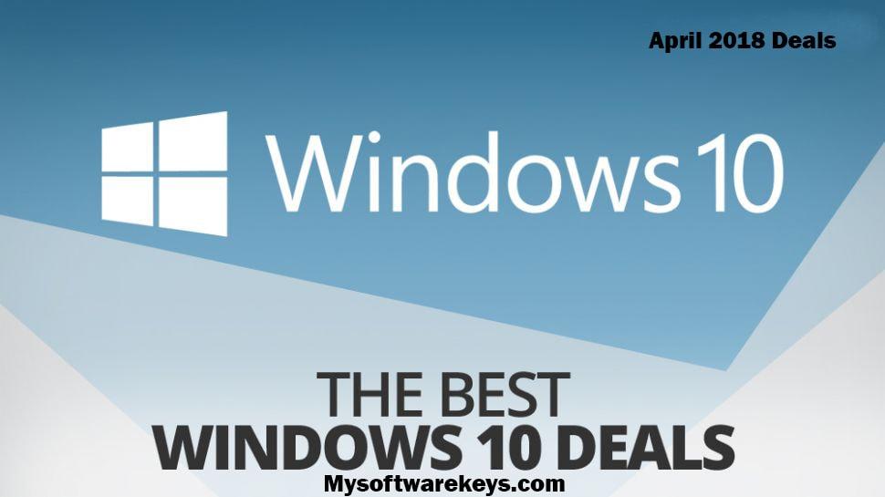 Windows10 April Deals