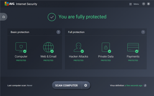 AVG Internet Security 2018 3 PC 1 year Full Version