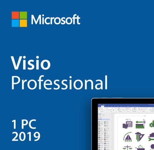 Visio Professional 2019 License Product Key