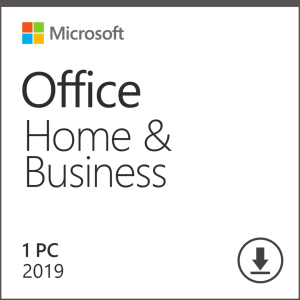 Microsoft Office 2019 Home & Business - License For PC