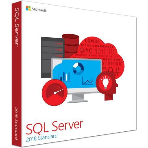 SQL SERVER 2016 STANDARD 50 Users- LICENSE