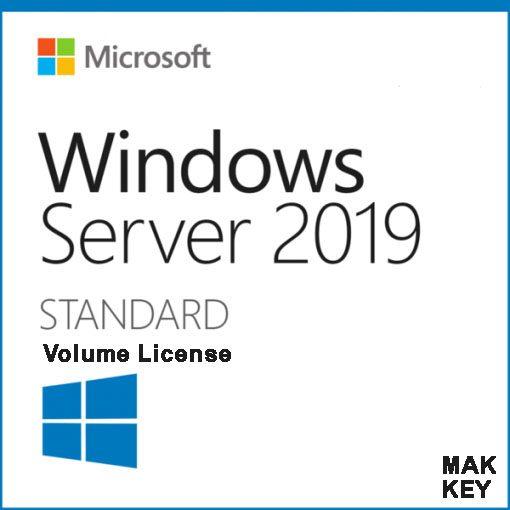 Windows Server Standard 2019 (16 Core) MAK45 License Key