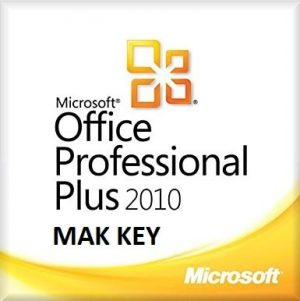 Microsoft Office Professional Plus 2010 MAK 50 PC Activations
