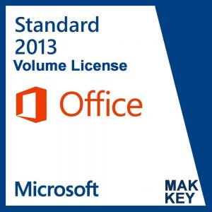 Microsoft Office Standard 2013 (50 PC Activations) MAK License Key