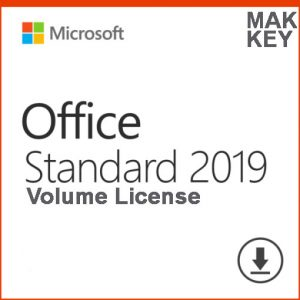 Microsoft Office Standard 2019 (50 PC Activations) MAK License Key