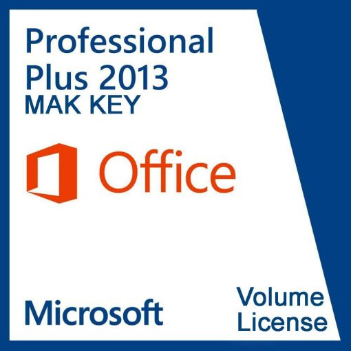 Microsoft Office Professional Plus 2013 (50 PC Activations) MAK License Key