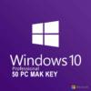 Windows 10pro 50pc