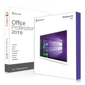 Windows 10 Pro + Office 2019 Professional Plus Product Keys