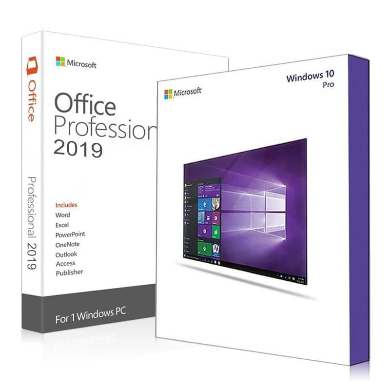 Windows 10 Pro + Office 2019 Professional Plus Product Keys