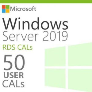 WindowsServer201950UsersCals