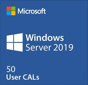 windows server 2019 50 user cals