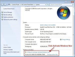 Windows 7 Ultimate Product key