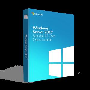 Microsoft Windows Server 2019 Standard 2 Core Open License
