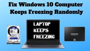 What to do if my laptop freezes?