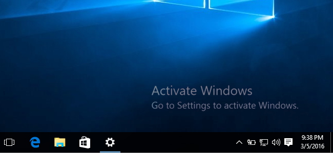 ACTIVATING WINDOWS 10 WITH A PRODUCT KEY